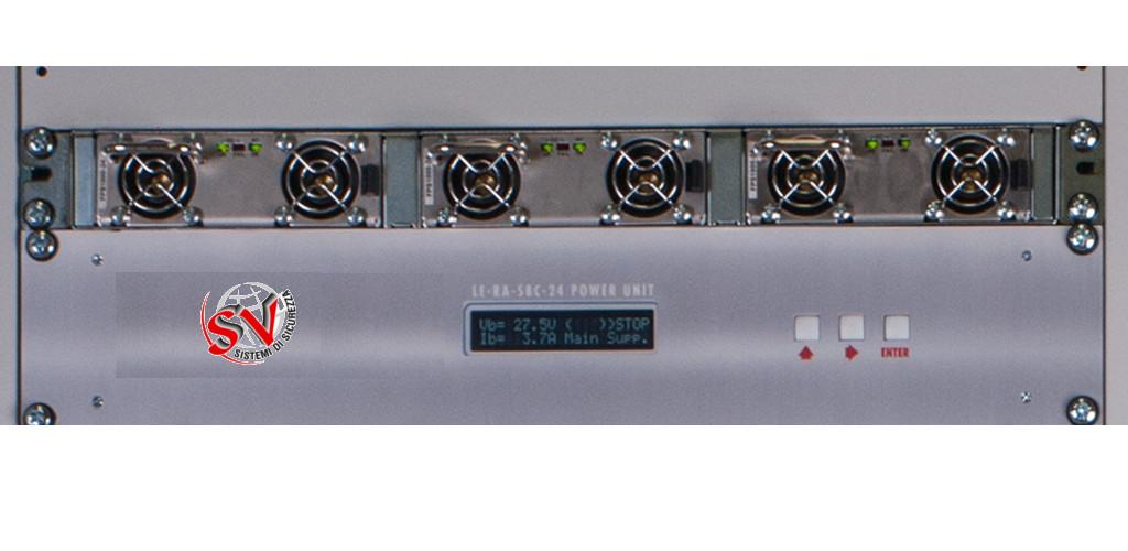 Centrali e Alimentatori antincendio certificati EN54-2, EN54-4 power supply en54-4
