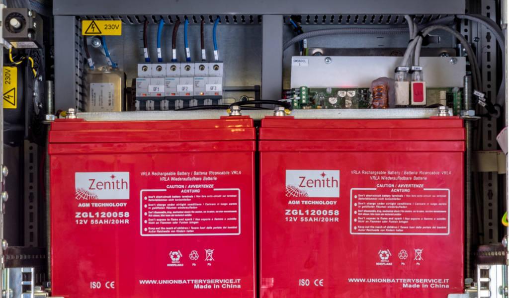 Centrali e Alimentatori antincendio certificati EN54-2, EN54-4 EXPSU20 EN54-4
