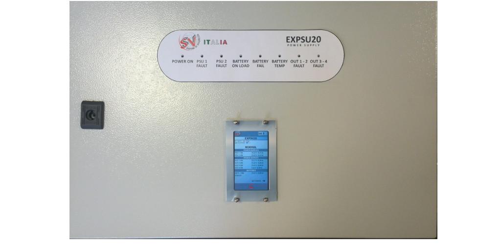 Centrali e Alimentatori antincendio certificati EN54-2, EN54-4 Alim5