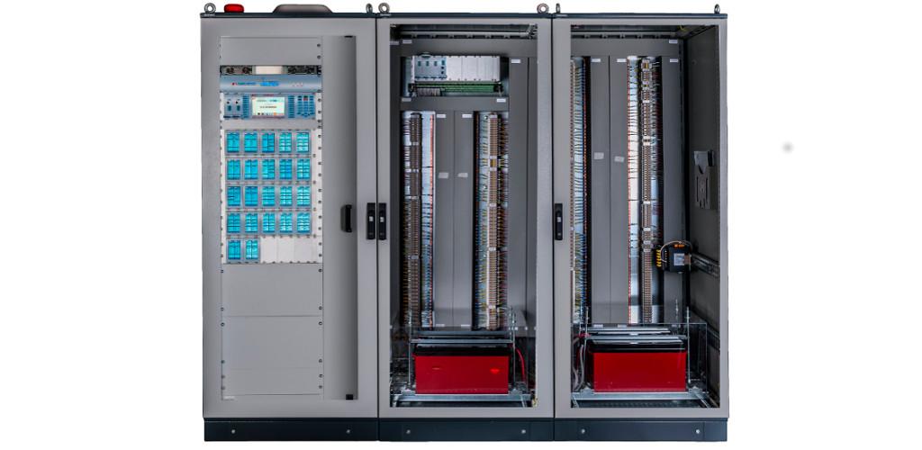 Centrali e Alimentatori antincendio certificati EN54-2, EN54-4 EXfire Aperta Realizzazioni